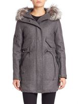 SAM. Delancey Fur-Trim Parka
