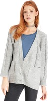 Sole Society Cable Knit Cardigan
