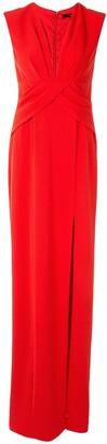 Jay Godfrey Wrap-Style Evening Gown