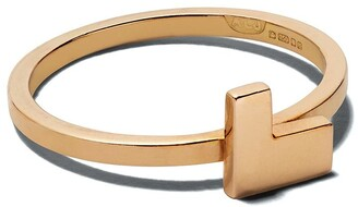 alexandra jefford 18kt Rose Gold Geometric Detail Ring