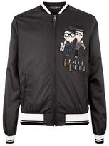Dolce & Gabbana Musical Duo Bomber Jacket