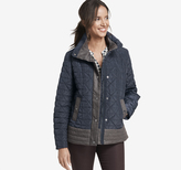 Johnston & Murphy Colorblocked Quilted Jacket