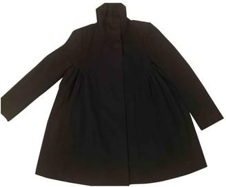 Stella McCartney Black Wool Coats
