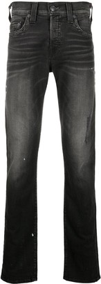 True Religion Distressed Slim-Leg Jeans