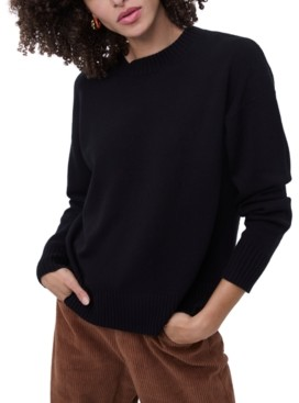 French Connection Ribbed Crewneck Sweater