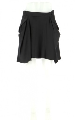 Vanessa Bruno Black Silk Skirt for Women