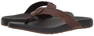 Reef Cushion Phantom LE (Black/Brown) Men's Sandals