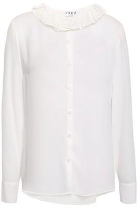 Claudie Pierlot Cupcake Pleated Crepe Shirt