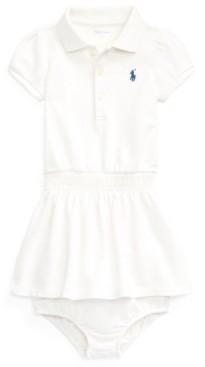 Polo Ralph Lauren Ralph Lauren Baby Girls Polo Dress Bloomer