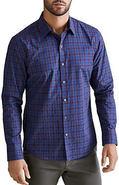 Zachary Prell Harrigan Plaid Regular Fit Shirt