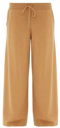 Johnstons of Elgin Johnston's Of Elgin - Colette Wide-leg Cashmere Trousers - Camel