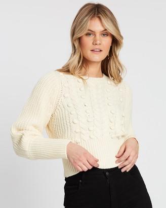 Atmos & Here Lauren Pom Pom Knit