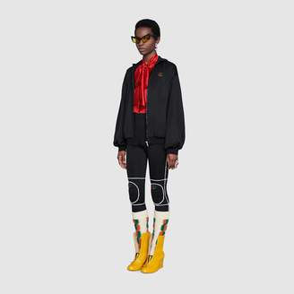 Gucci Technical jersey jacket with elbow pads