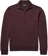 Loro Piana - Roadster Striped Cashmere Half-zip Sweater