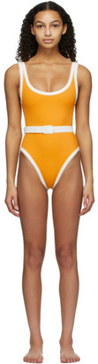 Medina Swimwear Orange Volley One-Piece Swimsuit