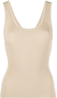 Nanushka Rib-Knit Vest Top