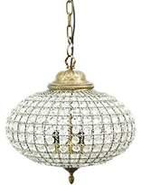 Artisanti Blenheim Oval Crystal Effect Brass Chandelier