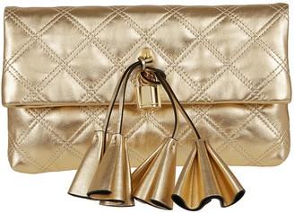 Marc Jacobs Sophia Metallic Leather Clutch