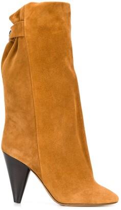 Isabel Marant Round Toe Boots