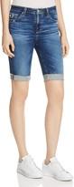 AG Jeans Brooke Bermuda Denim Shorts in 14 Years Ablaze