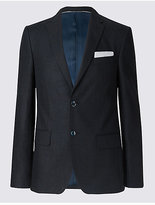 M&S Collection Linen Miracle Tailored Fit Jacket