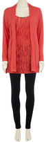 Dorothy Perkins Coral 2 in 1 frill cardigan
