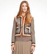 Quincey Tonal Tweed Jacket