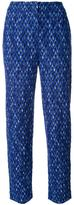 Missoni knitted cropped trousers - women - Nylon/Viscose/Wool - 42