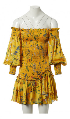 Alexis Yellow Polyester Dresses