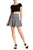 Whyte Eyelash Peplum Skirt