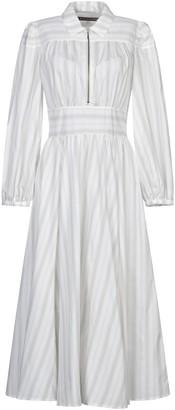 ALEXACHUNG 3/4 length dresses