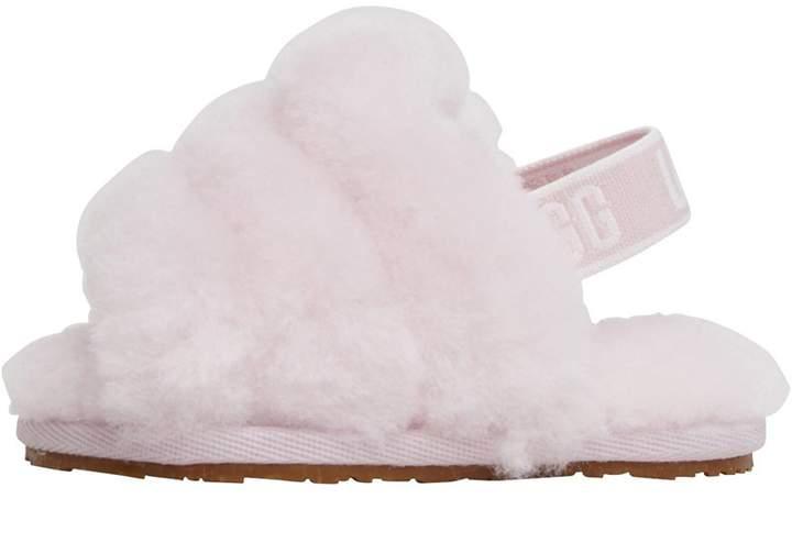 d23f0cf6e07 Baby Girls Fluff Yeah Slides Seashell Pink