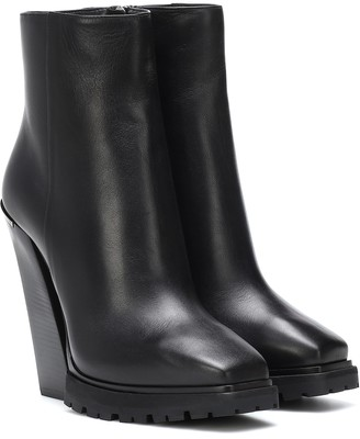 Jimmy Choo Madra 130 leather ankle boots