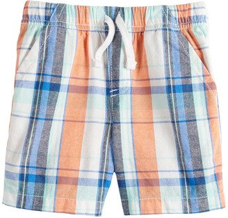 Toddler Boy Jumping Beans Plaid Shorts