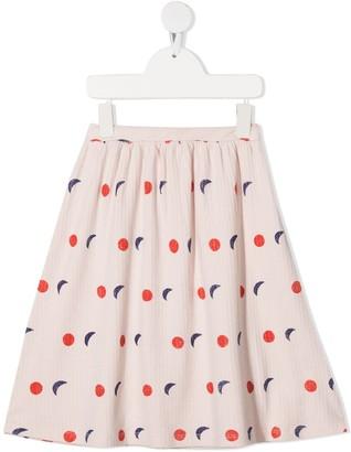 Bobo Choses Embroidered Midi Skirt