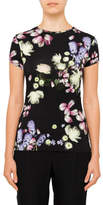 Ted Baker VILLEAW KENSINGTON FLORAL FITTED TEE