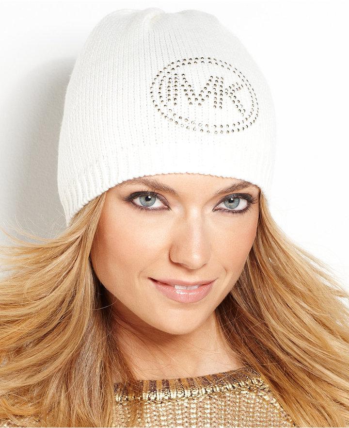 MICHAEL Michael Kors Sparkle Solid Logo Hat