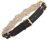 BCBGMAXAZRIA Braided Faux Leather Belt