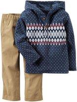 Carter's 2 Piece Sweater Set - Print - 4T