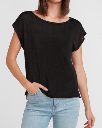 Express Off The Shoulder Relaxed Tee