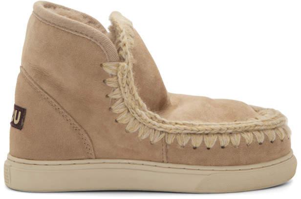 Mou Tan Mini Eskimo Boots