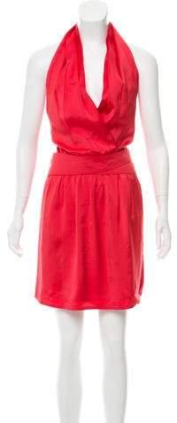 Gucci Knee-Length Halter Dress