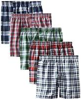 Hanes Men's 5-Pack FreshIQ Boxer with Elastic Waistband