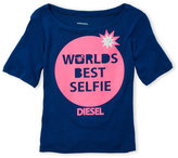 Diesel Girls 7-16) Graphic Tee