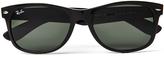 Ray-Ban Polarized Wayfarer Sunglasses Large RB2132 901/58