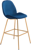 ZUO Set Of 2 Siena Bar Chairs