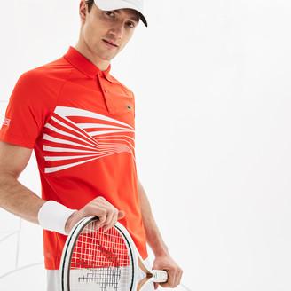 Lacoste Men's SPORT Novak Djokovic Collection Tech Jersey Polo