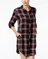 Roxy Juniors' Woodwork Plaid Shirtdress