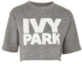 Ivy Park Women's Chenille Logo Wrap Crop Top