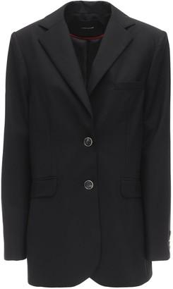 Lesyanebo Cool Wool Single Breasted Jacket